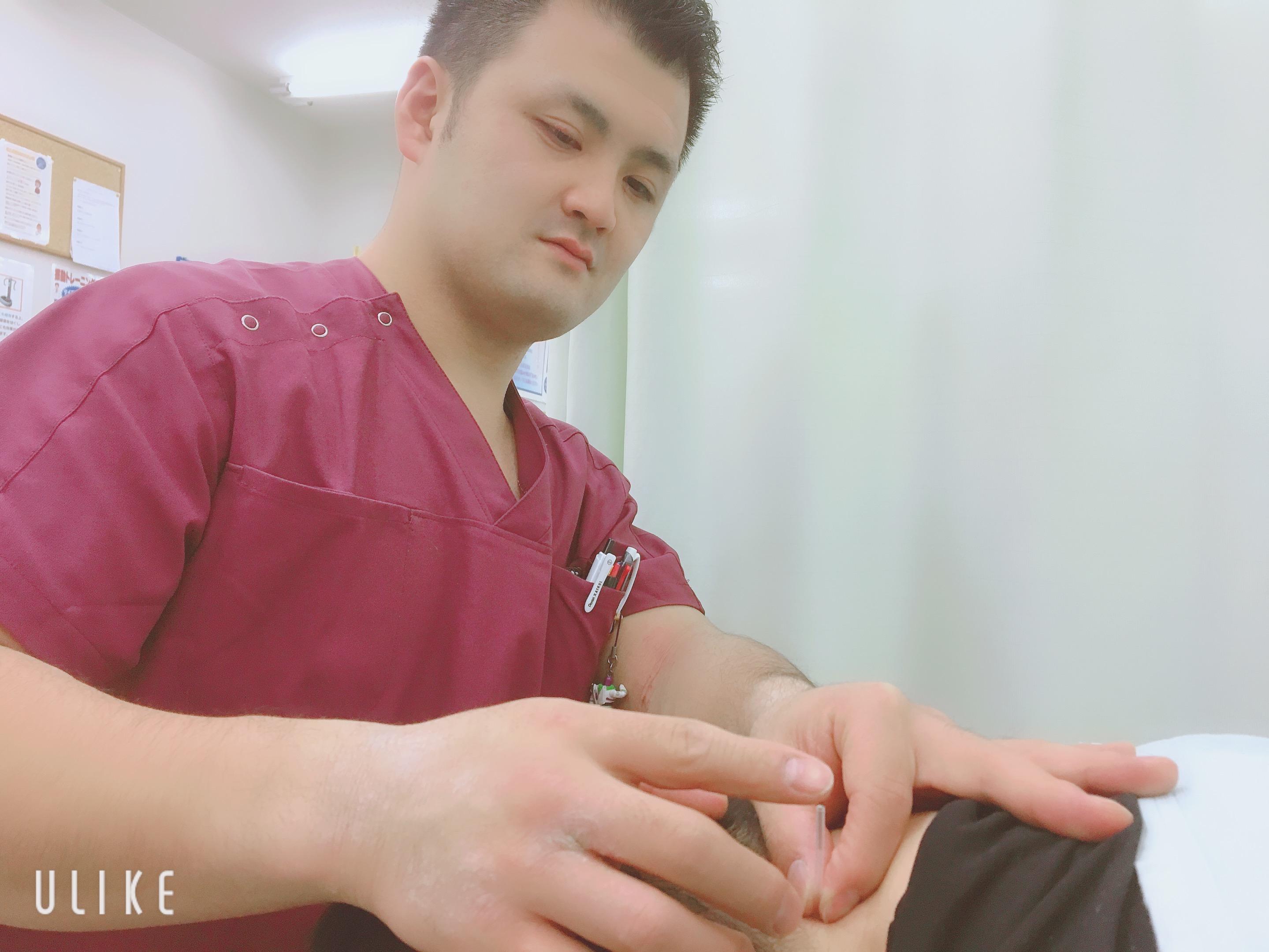 楽さすプログラム 鍼治療